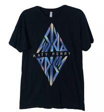 KATY PERRY PRISM 2013 Album Release Pop Star Souvenir Black T Shirt Size M