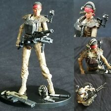 "Hiya Aliens Colonial Marines 1:18 Scale 3.75"" Vasquez custom head only"