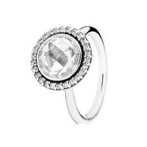 Genuine Pandora Statement Sparkling Ring Size 54 190904CZ