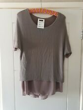 Ladies Made In Italy Top Size 14 Bnwt
