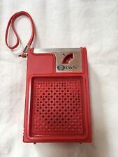 DYN VINTAGE TRANSISTOR RADIO MODEL DS-008  50'S 60'S AM SOLID STATE 9 VOLT