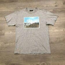 The Hundreds Mens Medium Beach Graphic Gray T Shirt
