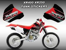 Replacement Vinyl TANK STICKER Kit for Honda XR250R | XR400R | 1996 to 2004