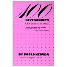 100 Love Sonnets: Cien sonetos de amor Texas Pan American Series English and