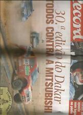 RARE MAGAZINE RECORD PORTUGAIS SPECIAL Rally Paris Dakar 2008