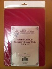 "NEW Spellbinders GC-008 Grand Calibur Raspberry Spacer Plate A4 Sized 8.5"" x 12"""
