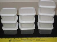 Sure-Fresh 12 Mini Storage Containers w/Lids - Arts/Crafts/Nuts/Bolts/Beads/Food