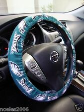 Handmade Steering Wheel Cover NFL Philidelphia Eagles Football