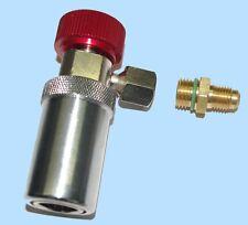 Schnellkupplung Hochdruck LANG für Klimaservicegerät mit R134a Kältemittel