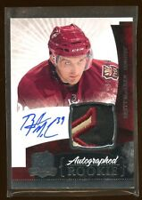 BRETT MacLEAN 2010 THE CUP RC AUTO PATCH LOGO /249  BEAUTIFUL PATCH LOGO