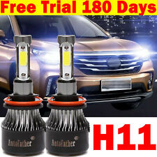 H8/H9/H11 Led Headlight Kit Beam Bubls for Chevrolet Silverado 1500 2500 3500Hd
