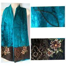 Beaded Velvet Women's Scarves and Shawls