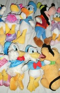YOU PICK DISNEY DONALD DUCK DAISY PLUTO PLUSH STUFFED ANIMAL FROM MICKEY MOUSE