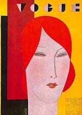 Vogue.Art Deco.Vintage.Retro.Beauty.Art.Artist.Portrait.Fashion.20's.Deco