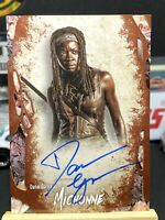 2016 Topps The Walking Dead Survival Box Danai Gurira as Michonne Autograph...