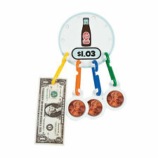 Math Money Linking Game - Educational - 180 Pieces