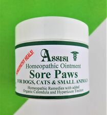 Homeopathy Ointment Balm For Cats - Sore Pads, Noses & Paws - Assisi 50g
