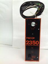 Fincor 2350 DC Motor Control (#1822-88)