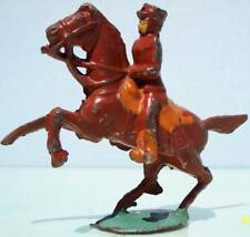 Eureka Toy Soldiers Hollow Cast Lead Mounted Officer On Rearing Horse 93%
