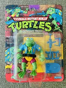 Vintage TMNT Teenage Mutant Ninja Turtles Genghis Frog 100% Complete Please Read