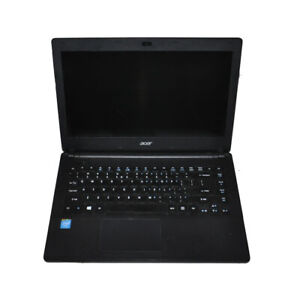 "Acer Aspire ES1-411 14"" Laptop Intel Celeron N2940 CPU 4G RAM 750G HDD Win 10"