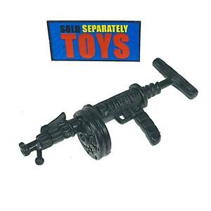 Vtg Playmates TMNT Halfcourt Giraffe MACHINE GUN rifle weapon accessory part RAR