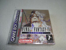 Final Fantasy IV GBA Game Boy Advance Jeu Neuf New Sealed Red Strip
