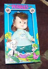 "Fred Flintstones Cartoon 1982 Mighty Star 16"" PEBBLES Doll in Box"
