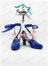 VOCALOID  Hatsune Miku  cosplay shoes boots Custom-Made  1852