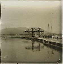 Asie Indo Chine Photo Plaque de verre Stereo L12 Vintage ca 1910