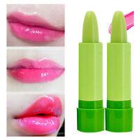 1 X Magic Temperature Change Color Lipstick Moisture Green to Pink Lip Balm FL