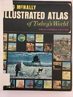 Rand McNally Vintage Illustrated Atlas of Today's World Encyclopedic Ed 1100 pgs