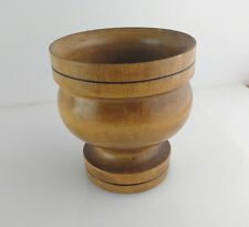 Handmade Turned Wooden Bowl