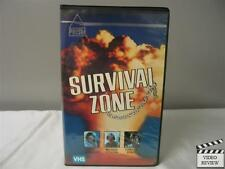 Survival Zone VHS (Clamshell) Gary Lockwood, Morgan Stevens, Camilla Sparv