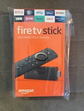 New Amazon Fire TV Stick streaming device with Alexa Voice Remote Latest Release