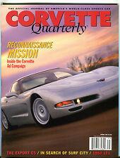 Corvette Quarterly Magazine Spring 1997 Corvette Ad Campaign EX 022216jhe