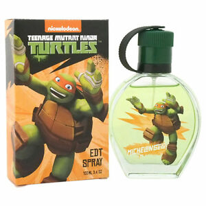 nickelodion-Teenage Mutant Ninja Turtles -Michelangelo- EDT Spray 3.4 OZ. 100 mL