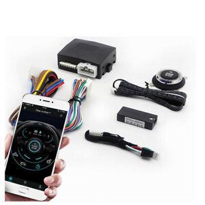 12V Car One-key Engine Start Smart Phone Bluetooth Remote System App Locking Kit