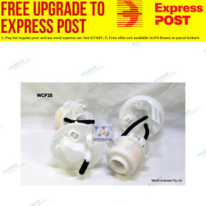 Wesfil Fuel Filter WCF25 fits Mazda 6 2.3 (GG),2.3 (GY),2.3 MPS Turbo (GG)
