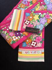 Louis Vuitton Bandeau Foulard Scarf 100% Soie Silk Limited Edition Twilly