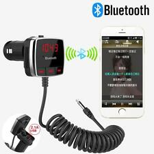 Auto Wireless Bluetooth FM Transmitter A2DP KFZ Audio Stereo 3.5MM AUX Player A