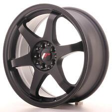 Japan Racing JR3 Alloy Wheel 17x7 - 5x100 / 5x114.3 - ET40 - Matt Black