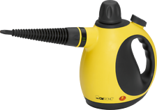 Clatronic Dampfreiniger DR 3653 gelb/schwarz, 3,5 bar, 5 Meter Kabel, NEU