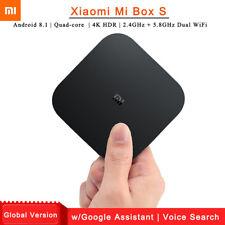 Xiaomi Mi Box S Android 8.1 4K TV Box 5G WIFI Voice Search Global Version 2G+8GB