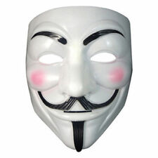 Mask ANONIMUS maschera V x Vendetta-Guy Fawk-in plastica Carnival Toys one size