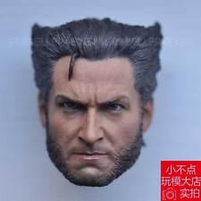 custom Hot 1/6 scale Head Sculpt X-Men Days of Future Past Wolverine 4.0