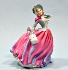 """Vintage Royal Doulton Girl Figurine """"Autumn Breeze """" Hn4716 Mint Condition"""