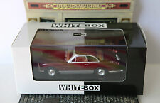 FACEL VEGA FV DARK RED METAL 1958 WHITEBOX WB044 1/43 ROUGE FONCE ROSSO ITALIA