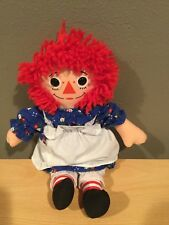 Rare Raggedy Ann Doll #70101, Playskool (Hasbro) 12in Tall
