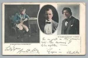 "Napoleon Actor at 26 ""Man of Destiny"" ""Candida"" Antique Philadelphia Theater"